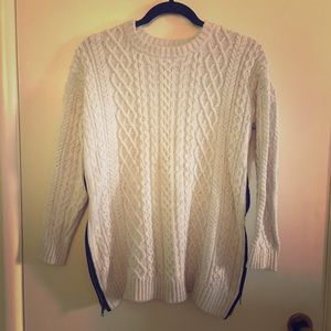 Margaret O'Leary Sweater with Zipper Sides